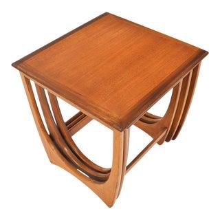 G Plan Astro Teak Nesting Tables #3 - 3 Pieces