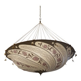 Fortuny Custom Scudo Saraceno Carduus Pendant in Light Pink For Sale