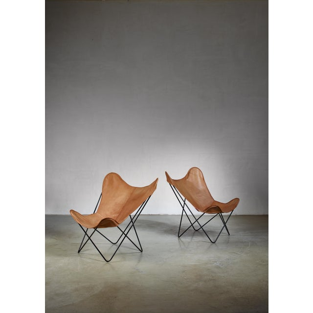 1950s Pair of Knoll Butterfly Chairs For Sale - Image 5 of 5