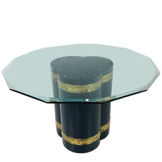 Mastercraft Clover Pedestal Dining Table For Sale