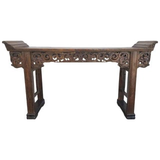 Grand-Scale Qing Dynasty Alter Table For Sale