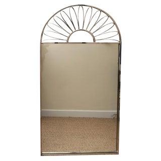Stunning Italian Nickel Silvered Mirror