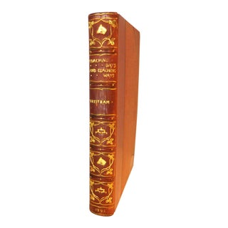 "Signed Fine Leather Bound ""Coaching Days and Coaching Ways"" by W. Outram Tristram, Illustrated Second Edition For Sale"