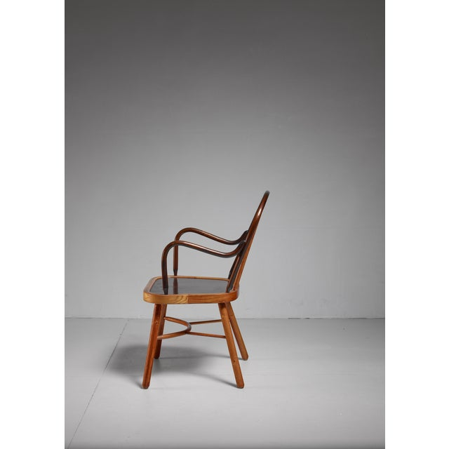 1920s Spindle chair, Austria, 1920s For Sale - Image 5 of 5