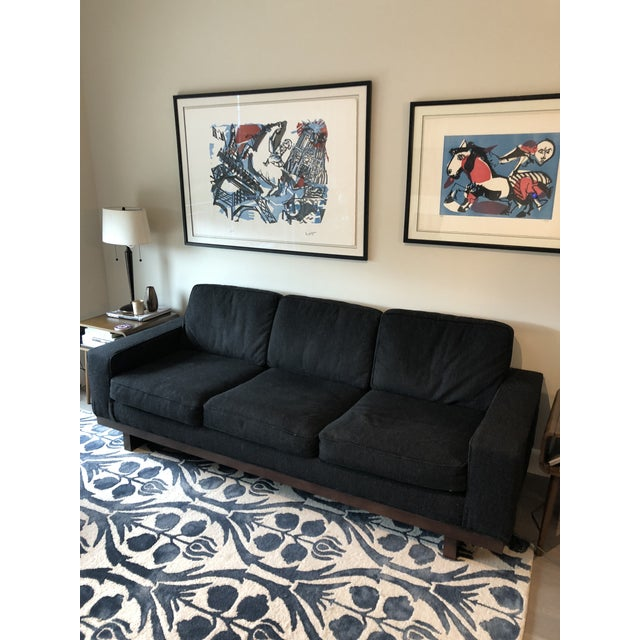 Mid-Century Modern Cantoni Mid Century Modern Style Couch For Sale - Image 3 of 4