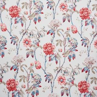 Schumacher Daydream Wallpaper in Rose , Sample For Sale