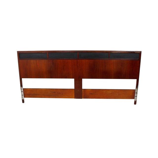 Mid Century Walnut 12-Drawer Dresser / Credenza - Image 7 of 9