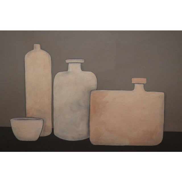 Painting Of Three Vases And Bowl By Jerry Williamson Chairish