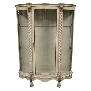 French Provincial Showcase For Sale