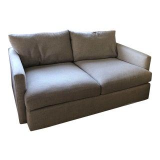 Crate & Barrel Lounge II Beige Apartment Sofa