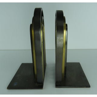 1930's Vintage Walter Von Nessen for Chase Art Deco Bookends- A Pair Preview