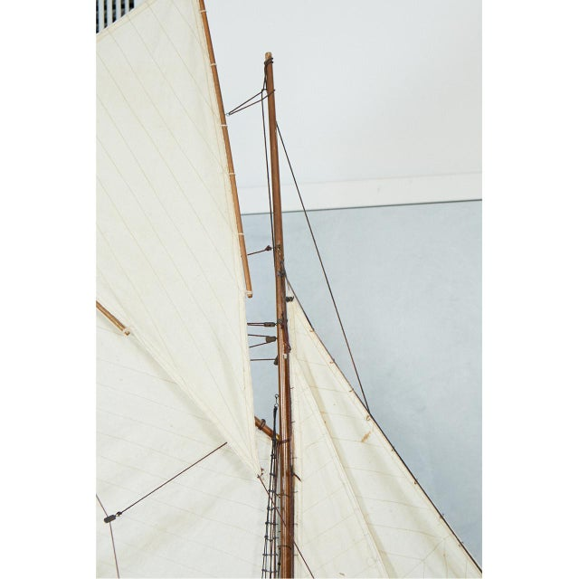 1970s Large Model Sailing Boat For Sale - Image 5 of 10