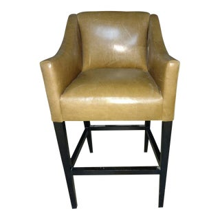 O' Henry House Leather Bar Stool