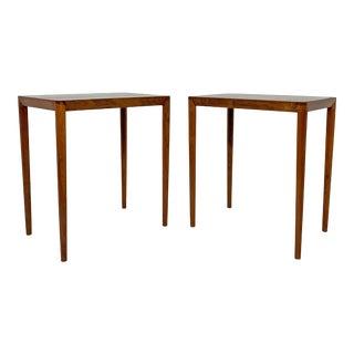 C.1970s Danish Teak Lamp Tables - a Pair For Sale