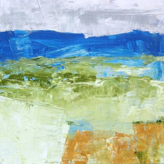 Paul Ashby Original Abstract Landscape Oil Painting