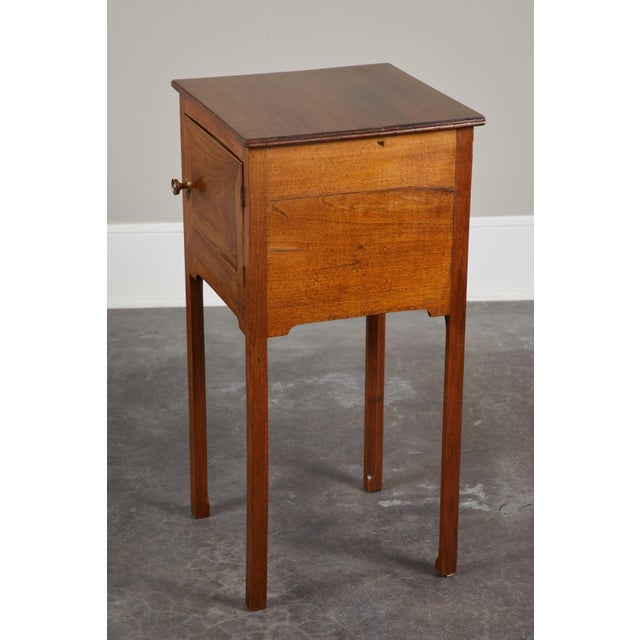 Pair of English George III Walnut Side Tables - Image 7 of 9