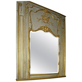 19th Century French Parcel 23 Karat Gold Mirror For Sale