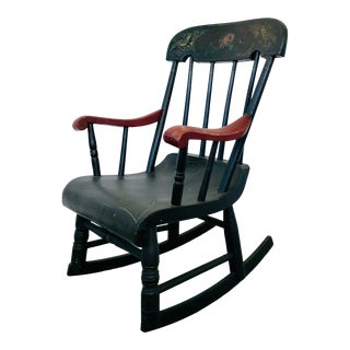 Antique Child's Rocking Chair For Sale