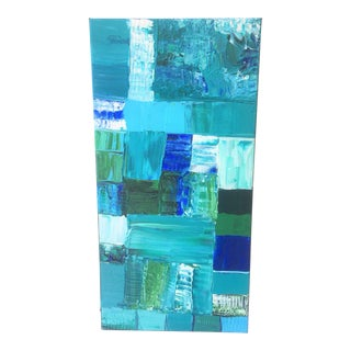 """""""The Blues"""" Abstract Painting"""