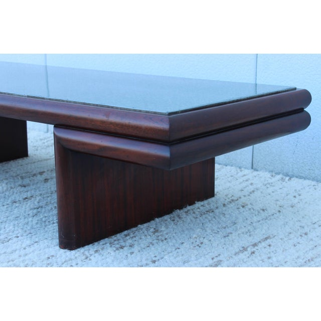 Harvey Probber Resin Top Modernist Coffee Table For Sale - Image 9 of 11