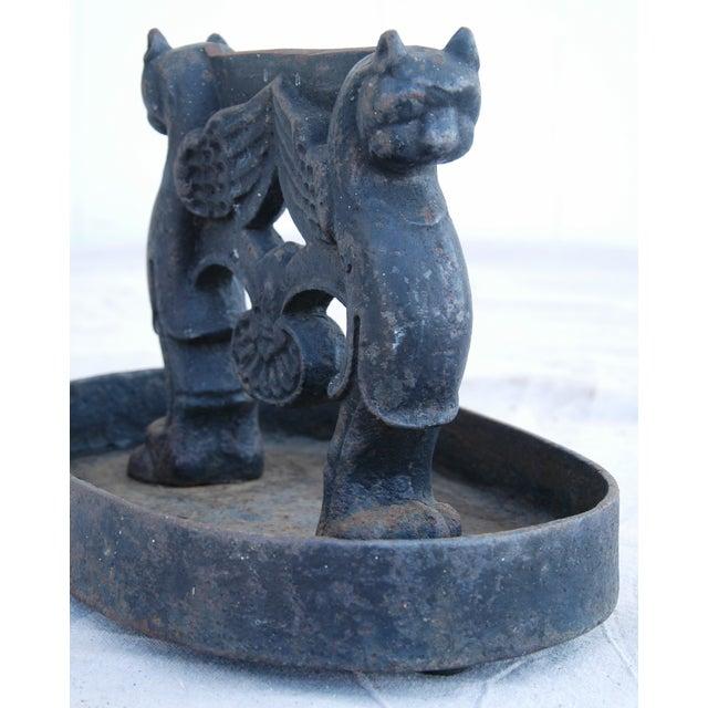 Antique English Cast Iron Boot Scraper - Image 8 of 10
