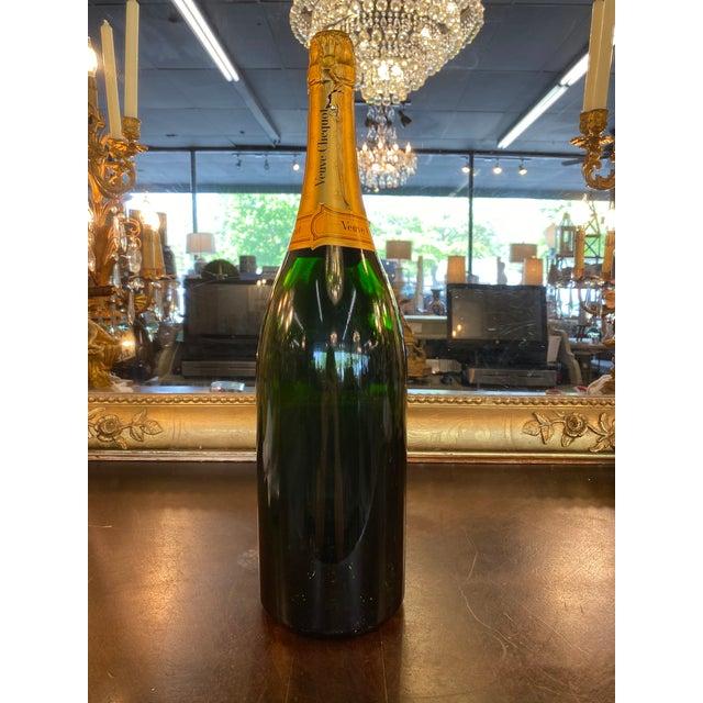 Late 20th Century French Veuve Cliquot Specimen Bottle For Sale - Image 4 of 5