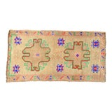 "Image of Hand Knotted Door Mat, Entryway Rug, Bath Mat, Kitchen Decor, Small Rug, Turkish Rug - 1'8"" X 3'3"" For Sale"