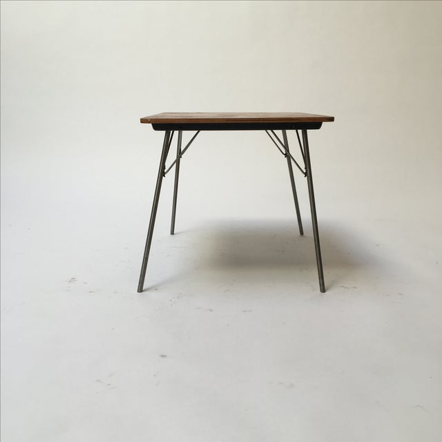 Vintage Eames IT-1 Child Size Folding Table For Sale - Image 11 of 11