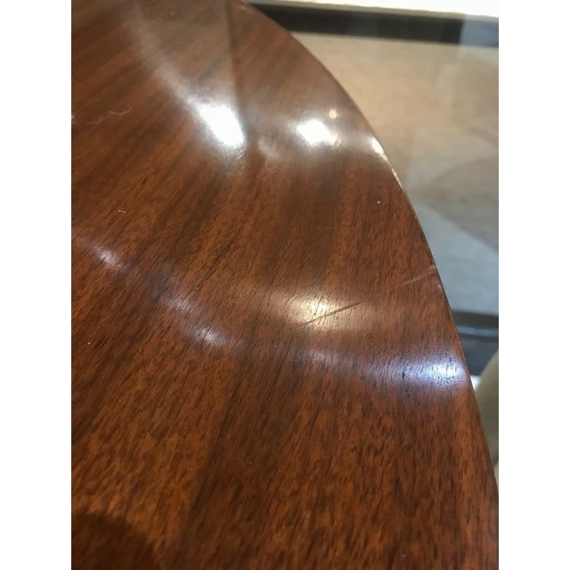 Barbara Barry for Henredon Arts and Crafts Ascot Mahogany Dining Table For Sale - Image 11 of 12
