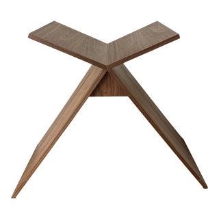 Contemporary Custom Walnut Bookstand