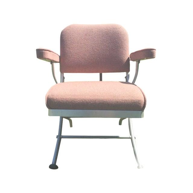Warren McArthur Pink Upholstered Folding Chair - Image 1 of 8