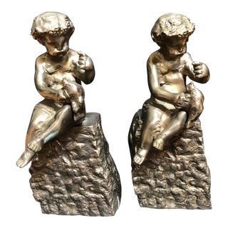 Traditional Bookends - a Pair For Sale