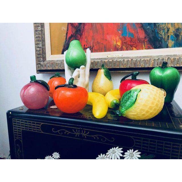 Italian Final Markdown 1960s Italian Murano Art Glass Fruit Sculptures - Set of 11 For Sale - Image 3 of 4