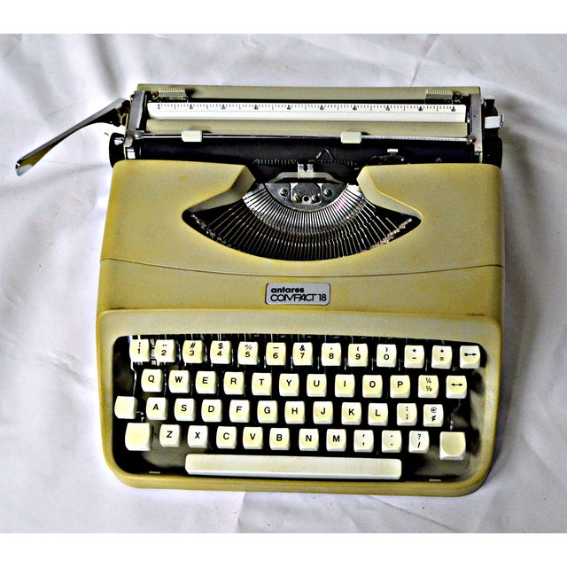 Italian Typewriter With Portable Case - Image 2 of 10