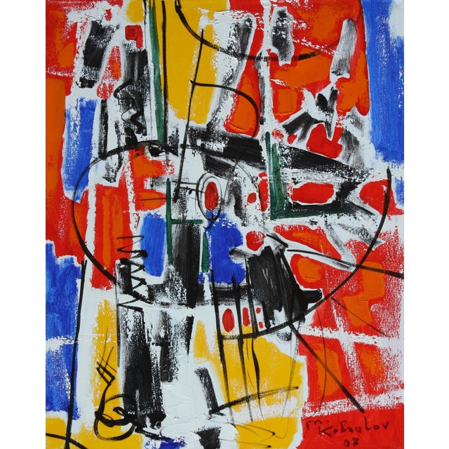 Abstract Expressionist Painting by Murat Kaboulov - Image 1 of 2