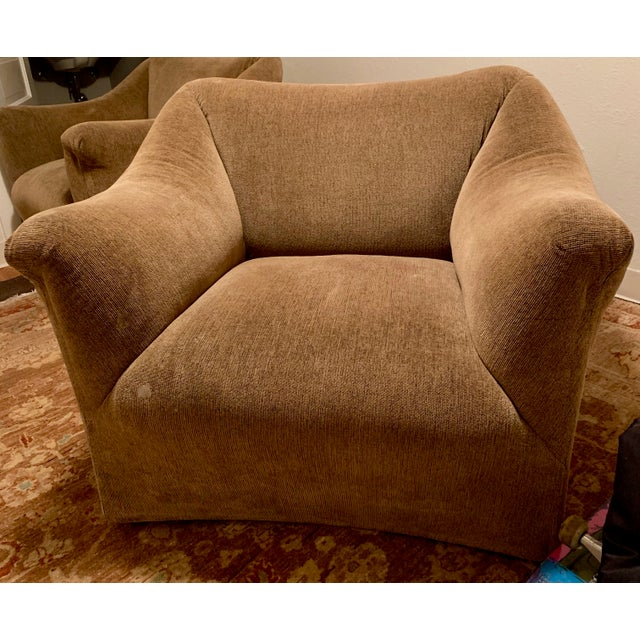 1970s Vintage Mario Bellini for Cassina Italian 685 Armchair- A Pair For Sale In Chicago - Image 6 of 13