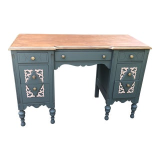 Antique Vanity Turned Desk