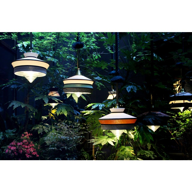 Calypso is a collection of small lamps inspired by the Forties. They show a connection to the tropical and Southern...