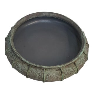 Vintage Decorative Patina Bowl For Sale