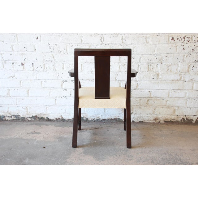 Edward Wormley for Dunbar Mid-Century Modern Dining Chairs, Set of 16 For Sale - Image 9 of 13