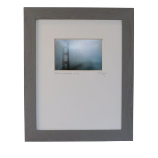 Mystical, Golden Gate Bridge, Sf. Custom Framed and Matted by C. Damien Fox For Sale