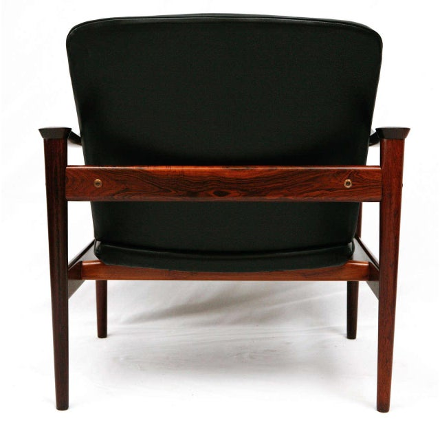 Frederik Kayser Rosewood Lounge Chair For Sale - Image 9 of 10