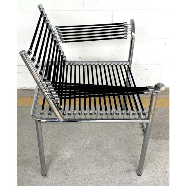 Late 20th Century Modern Bungee Armchair For Sale - Image 5 of 10