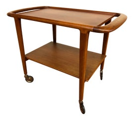 Image of Danish Modern Bar Carts and Dry Bars