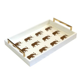 Elephant 'Meru' Tray For Sale