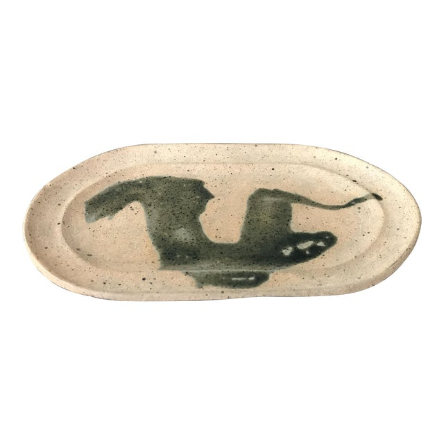 Hand Painted Clay Tray - Image 1 of 6