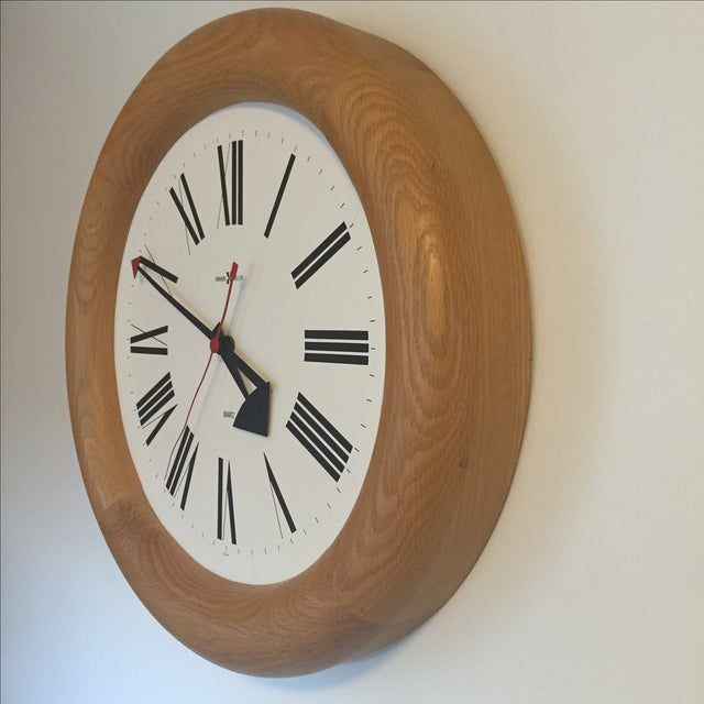 MCM Howard Miller Wall Clock by George Nelson - Image 3 of 7