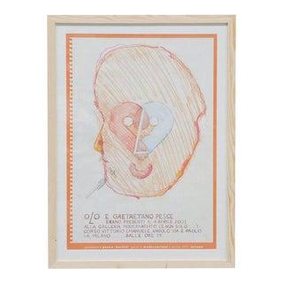 2001 Gaetano Pesce Exhibition Poster