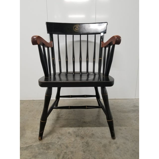 Americana Nichols & Stone Princeton Windsor Chair For Sale - Image 9 of 9