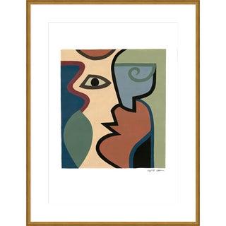 "Large ""Four"" Print by Sia Dzahn, 38"" X 50"" For Sale"